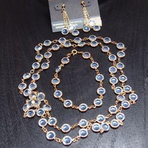 NWOT! Swarovski crystal vintage Savvy 3-pc set